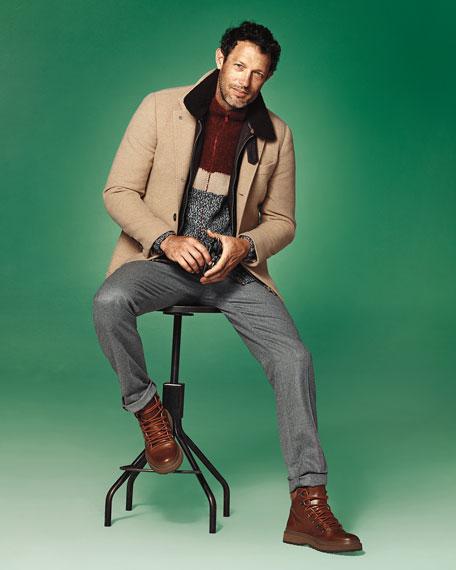 Lightweight Flannel Wool Pants