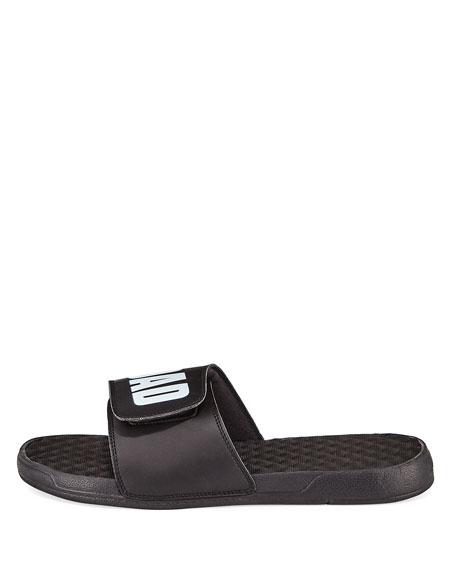 ISlide Men's #1 Dad Slide Sandals, Black