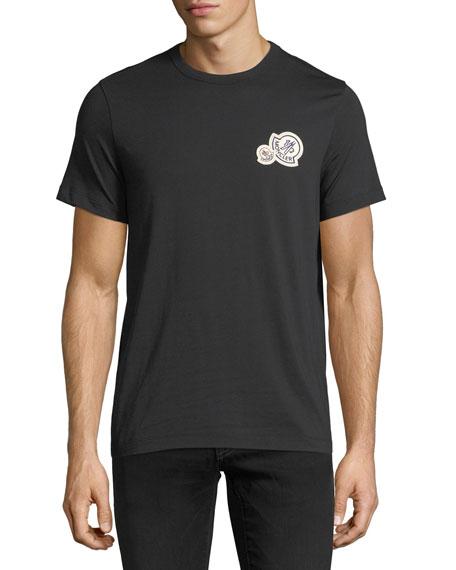 Moncler Cotton Crewneck Logo T-Shirt