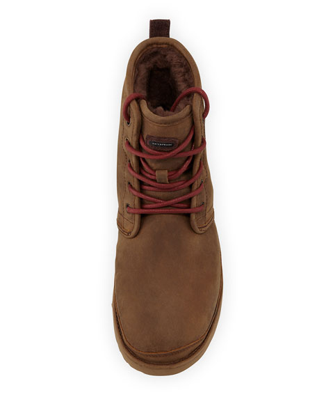 Men's Harkley Waterproof Suede Boot