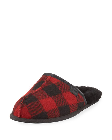 UGG Men's Scuff Buffalo Plaid Slipper
