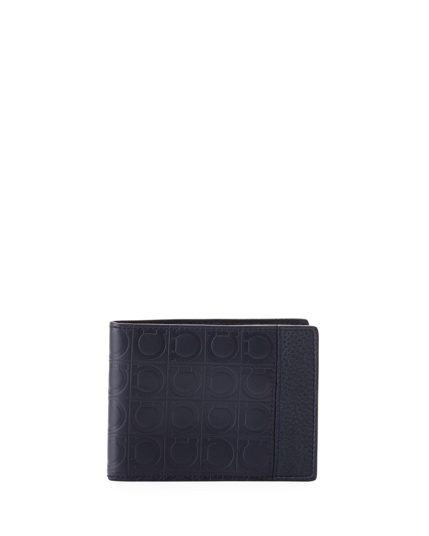 Salvatore Ferragamo Men s Firenze Gamma Bi-Fold Card Case  b4da2b85eb507
