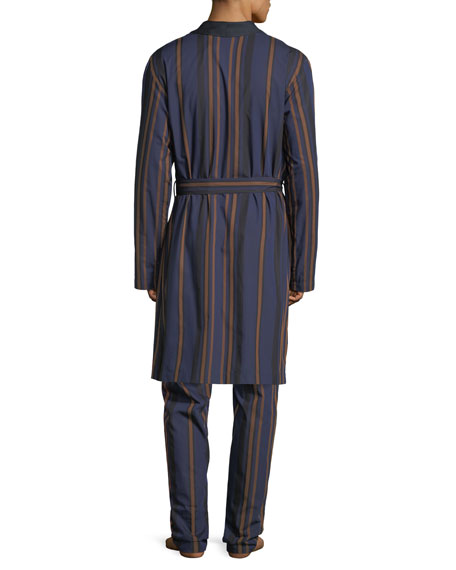 Striped Woven Robe