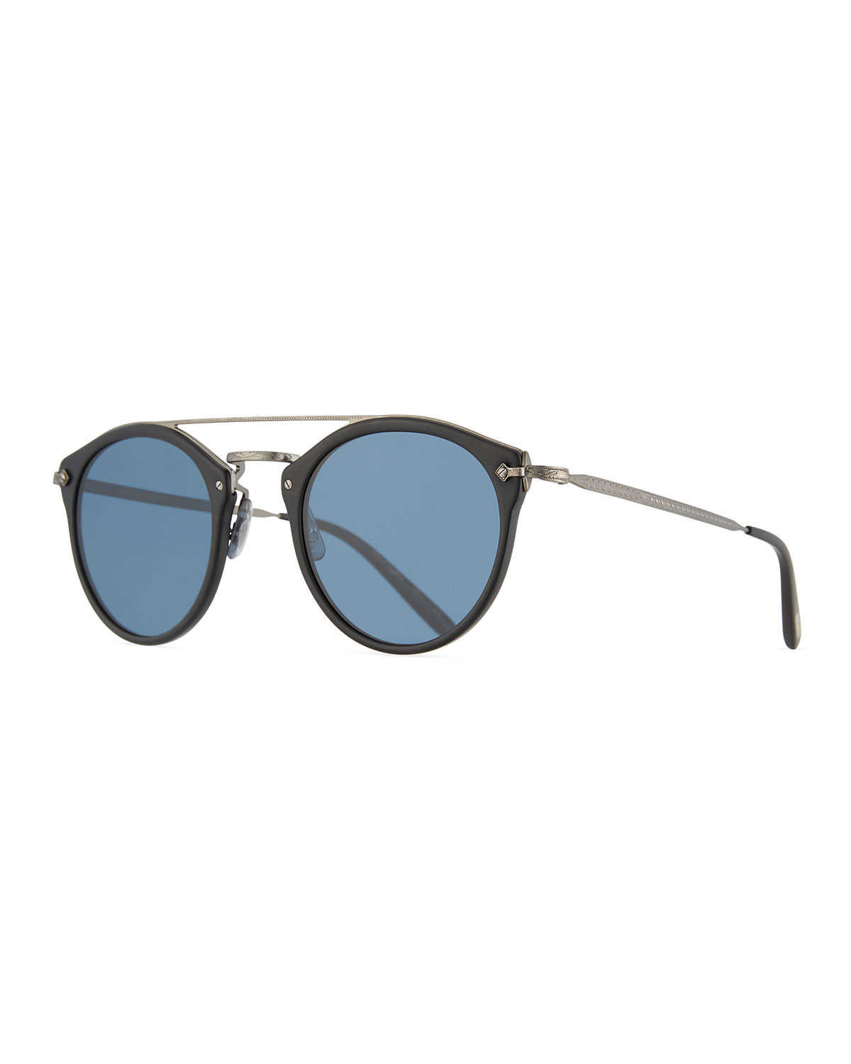 f5e82761eef Oliver Peoples Remick Vintage Brow-Bar Sunglasses
