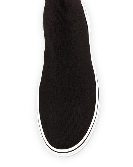 George V High-Top Sock Sneaker