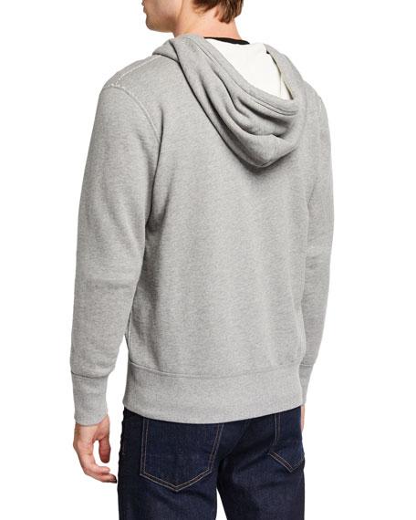Rag & Bone Men's Standard Issue Zip-Front Hoodie