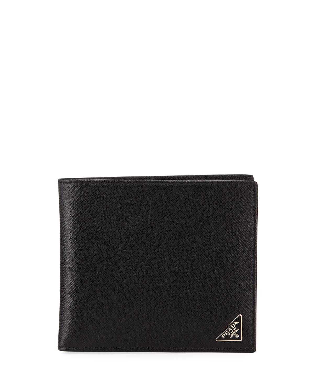 de2a127bc5 Prada Saffiano Bi-Fold Wallet   Neiman Marcus