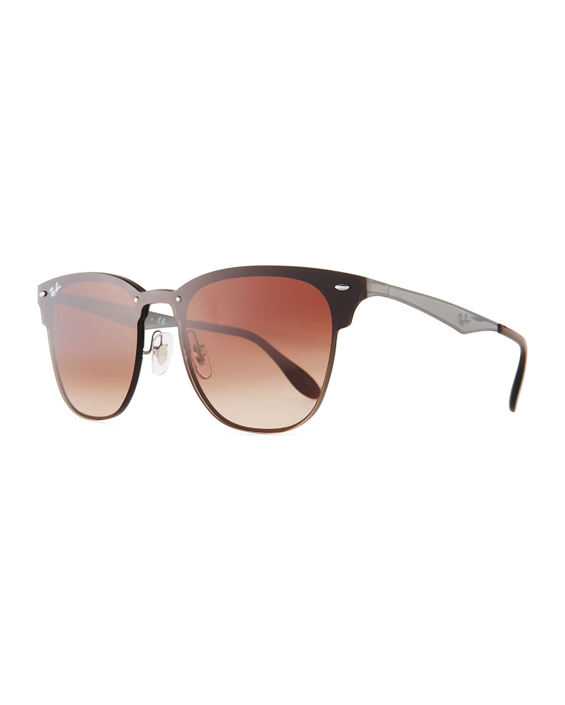 c65a8c44ac Ray-Ban Blaze Clubmaster Lens-Over-Frame Men s Sunglasses