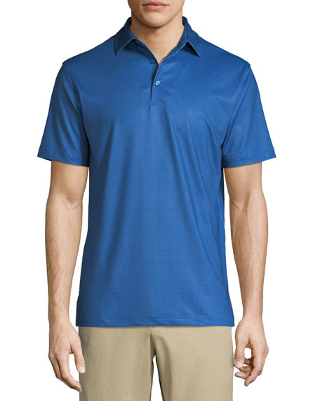 Peter Millar Men's Multi Mini Polka Dot Polo