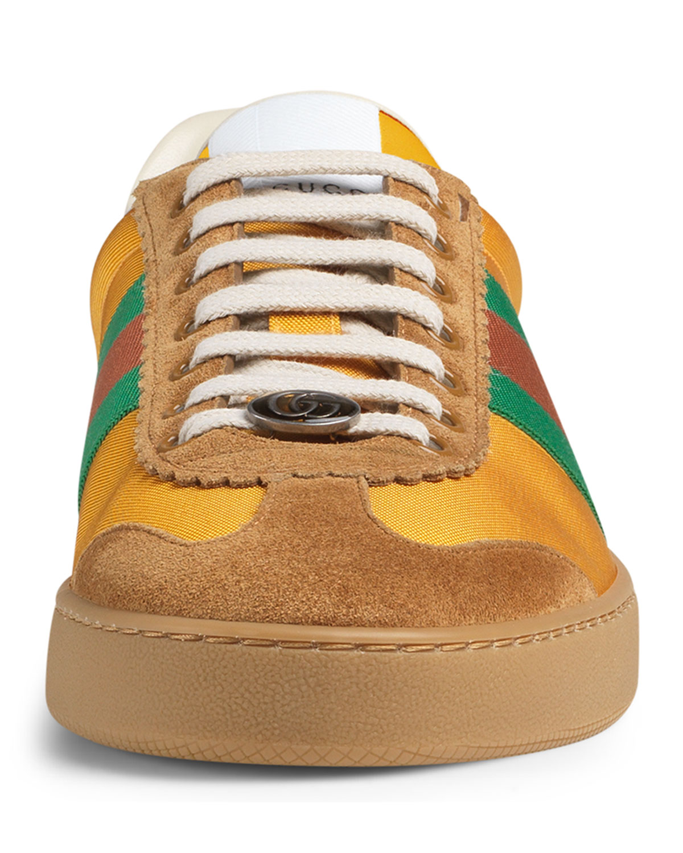 ed2919293 Gucci JBG Retro Nylon Sneaker | Neiman Marcus