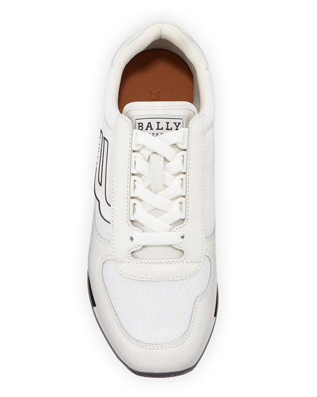 Bally Men's Gavino Retro Leather Running Sneakers