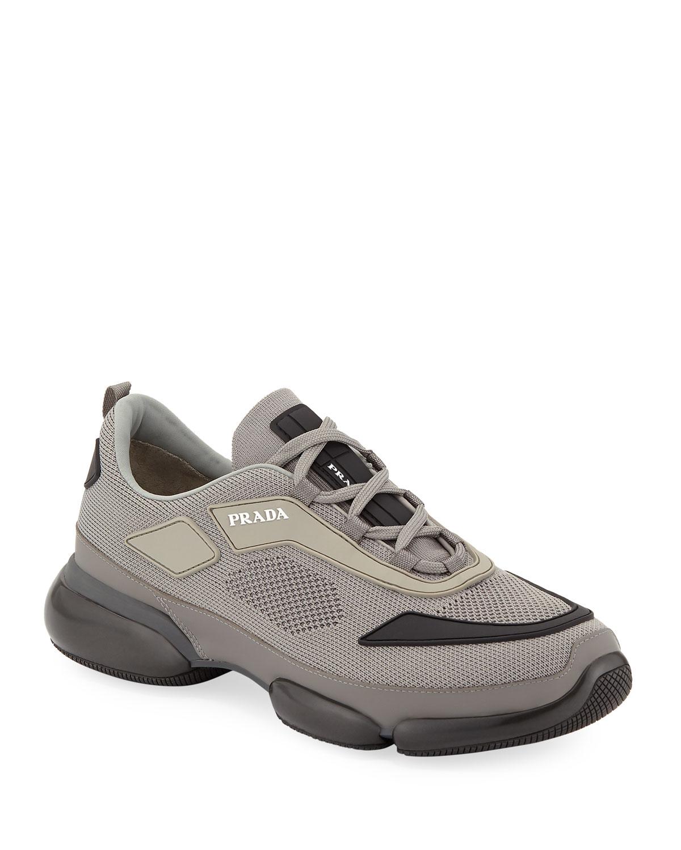 prada cloudbust grey