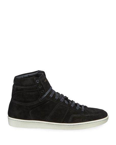 Image 3 of 3: Men's SL/10H Suede High-Top Sneaker