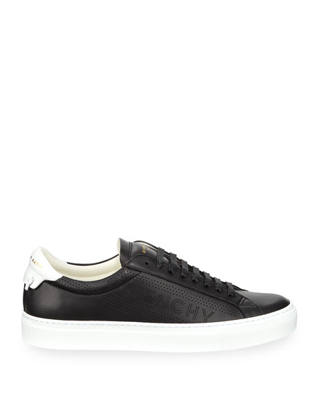 Givenchy Men's Urban Street Leather Low-Top Sneakers