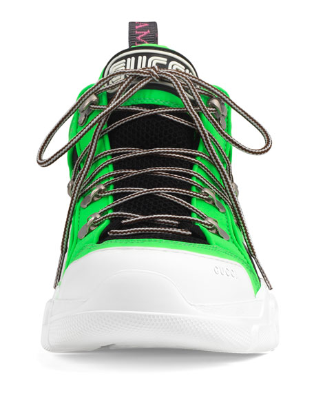 Gucci Men's Flashtrek Reflective Sneakers