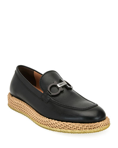 Men's Arinos Bit Loafers on Rope Sole