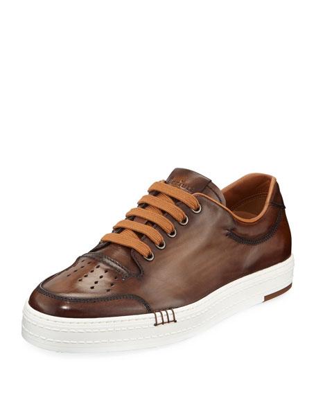 Berluti Men's Playtime Low-Top Sneakers