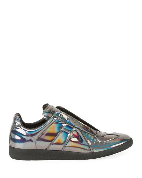 Maison Margiela Men's Replica Hologram Low-Top Sneakers