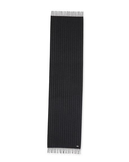 Loro Piana Men's Gessata Striped Scarf