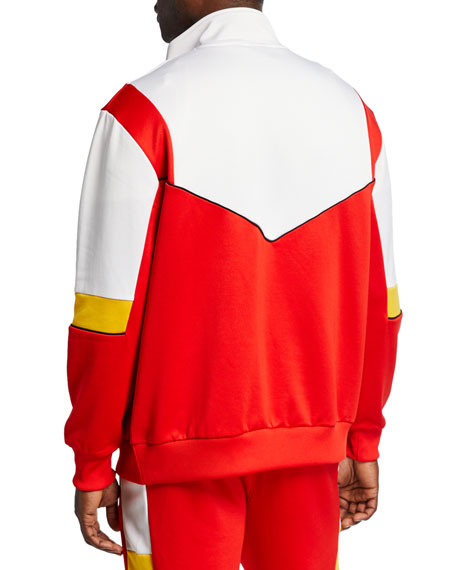 Men's Homage to Archives Zip-Front Track Jacket