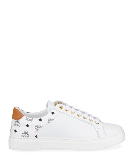 MCM Men's Collection M Low-Top Sneakers