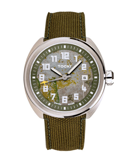 Tockr Watches Men's 42mm C-47c D-Day Worn Watch