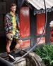 Versace Men's Cross Chainer Neoprene & Mesh Sneakers
