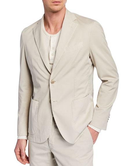 Neiman Marcus Men's Stretch Cotton Jacket
