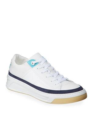 35741a4de100 Buscemi Men s Prodigy Leather Lace-Up Sneakers