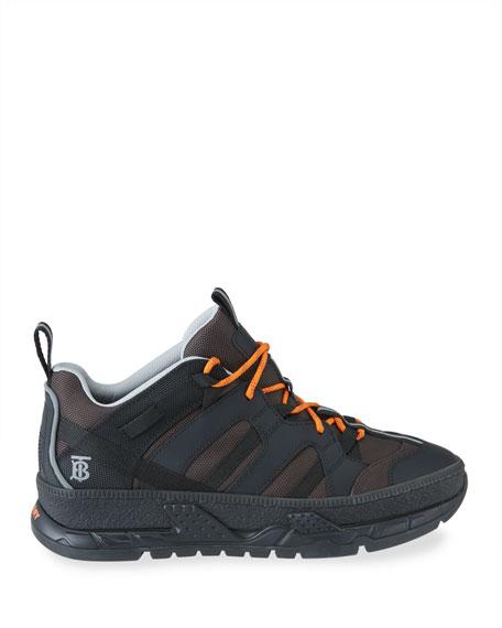 Burberry Men's Union Runway Low-Top Sneakers