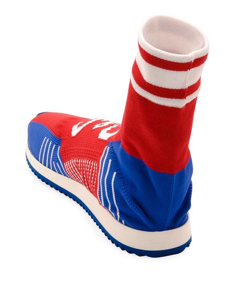 Dolce & Gabbana Men's Sorrento Sock Soccer Sneakers
