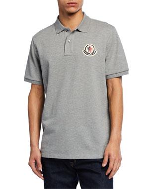 fad405f53 Moncler Genius Men's Logo-Applique Polo Shirt