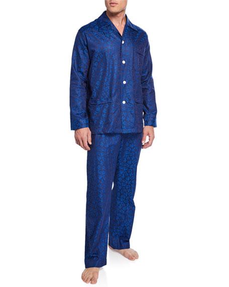 Derek Rose Men's Paris 16 Classic Pajama Set