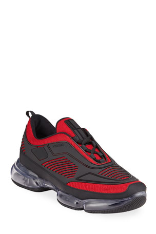 hot-selling professional fashionablestyle better price Prada Shoes & Sneakers for Men at Neiman Marcus