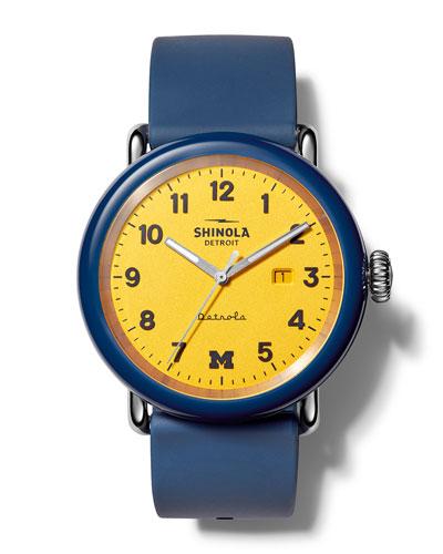 Men's Detrola The Wolverine 43mm Silicone Watch