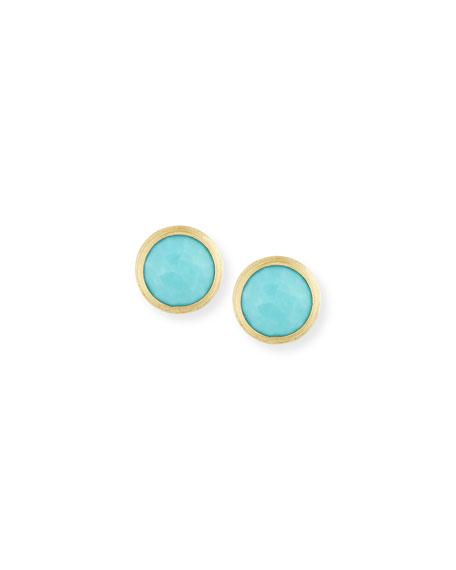 Marco Bicego Jaipur Turquoise Stud Earrings
