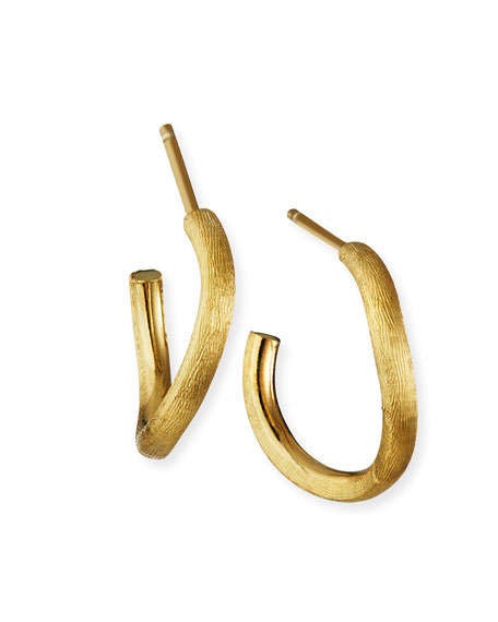 Image 1 of 2: Marco Bicego Jaipur 18k Gold Hoop Earrings