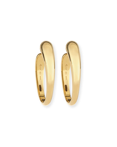 Tango 18K Gold Hoop Earrings