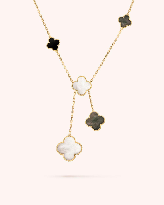 Van Cleef Amp Arpels Magic Alhambra Necklace 6 Motif