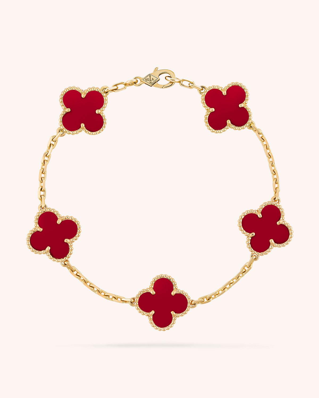 Vintage Alhambra Bracelet 5 Motifs