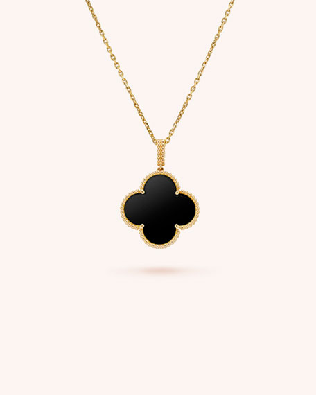 Van Cleef & Arpels Magic Alhambra Long Necklace, 1 Motif