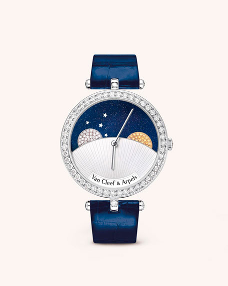 Van Cleef & Arpels Poetic Complications Timepieces Day and Night