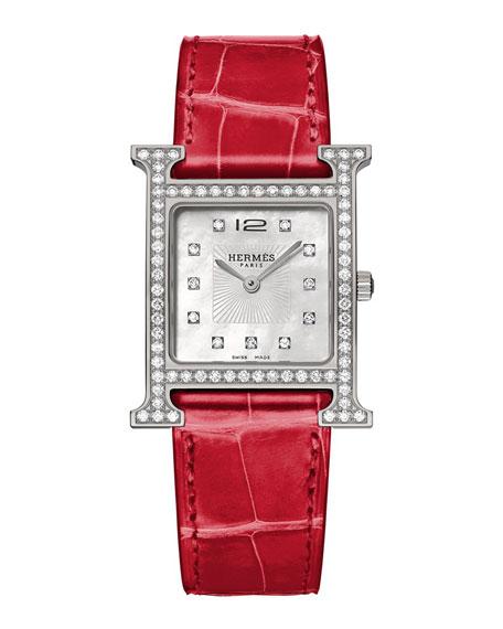 Hermès Heure H Watch, 26 x 26 mm