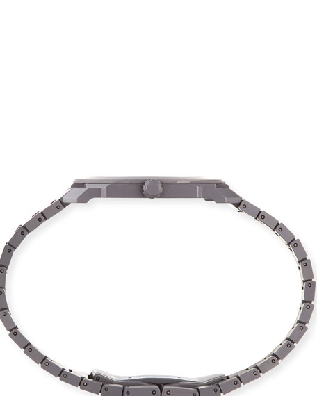 Image 2 of 3: BVLGARI Men's Octo Finissimo Automatic Bracelet Watch in Black Ceramic