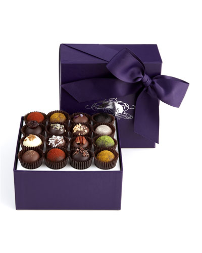 Exotic Truffle Collection  16 Pieces