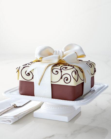 "Traditional Elegance ""Present"" Cheesecake"