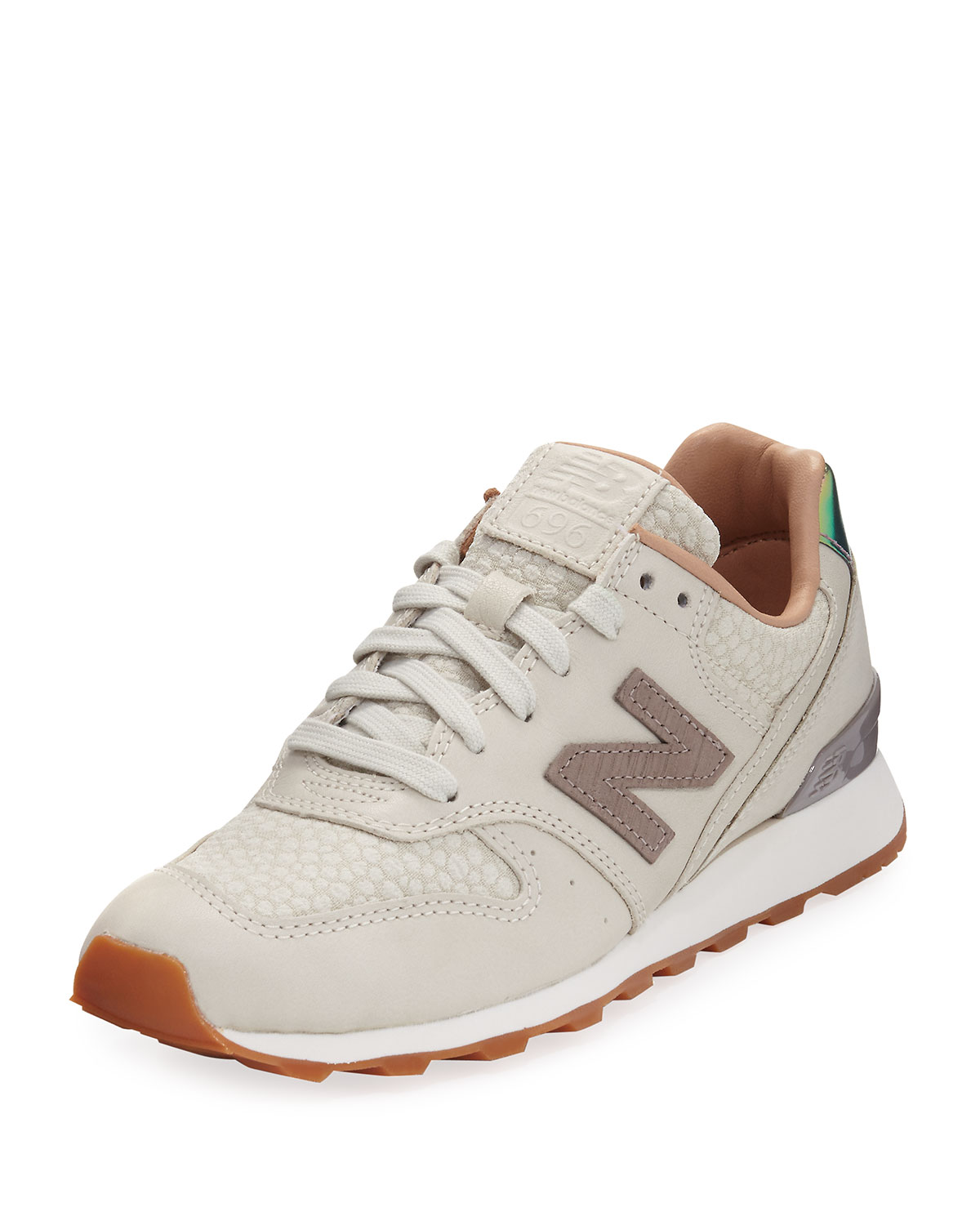 cb9a5ae1c2cd New Balance 696 Leather   Jacquard Sneakers