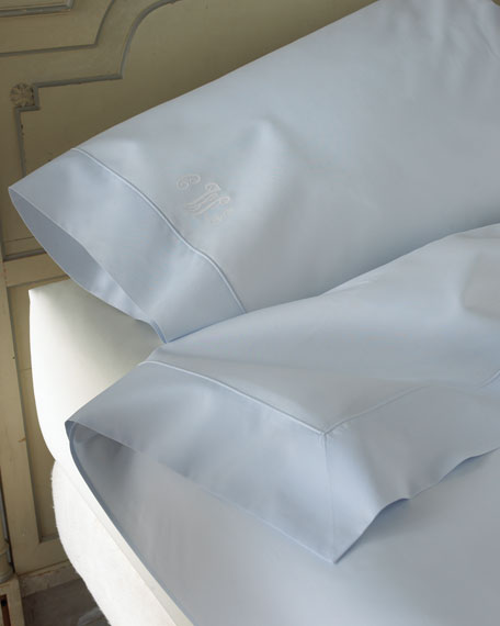 King Italian 500TC Percale Flat Sheet