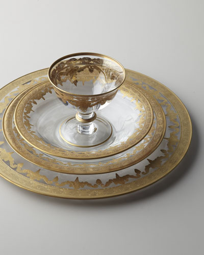 Vetro Gold Dinnerware