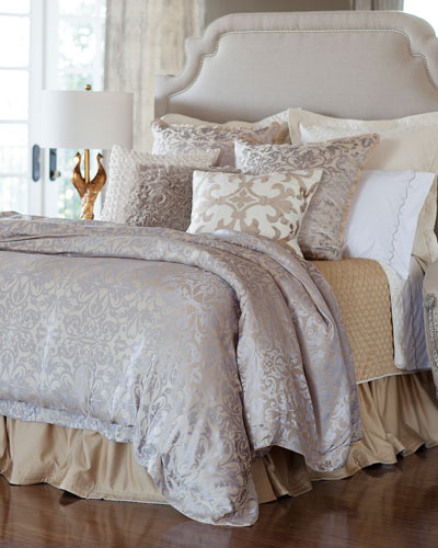 Champagne/Silver Jackie Bedding